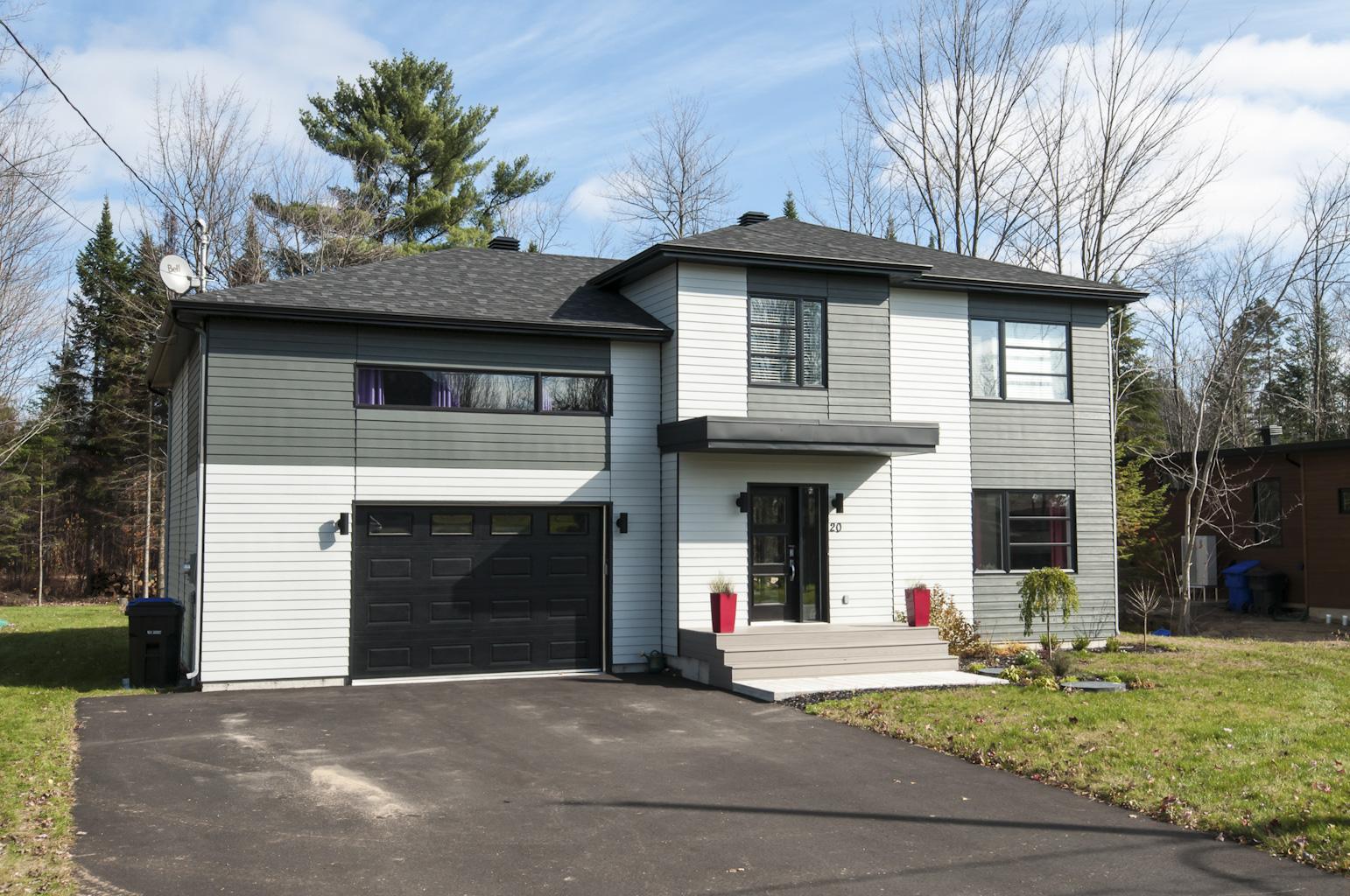 Mod les de maisons neuves for Maison neuve modele
