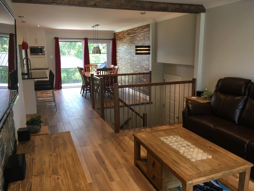 Maison moderne/rustique - Finition intérieur - Drummondville