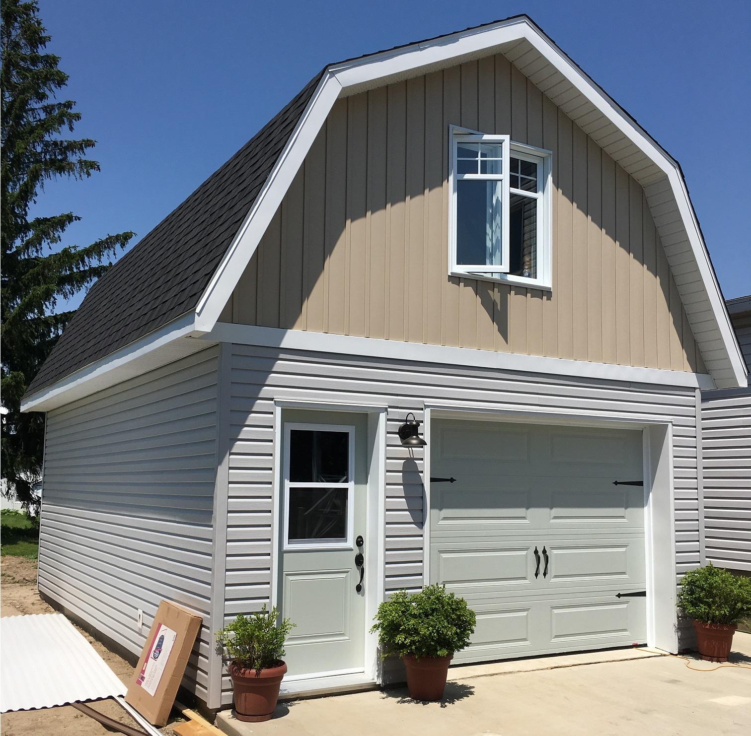 construction garages d tach s constructions concor. Black Bedroom Furniture Sets. Home Design Ideas